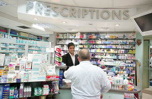 New plans to modernise community pharmacies