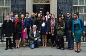 Young Londoners Sample Life as a Treasury Official