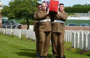 World War 1 soldier who was killed in the Battle of the Somme finally laid to rest a century later