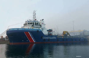New emergency towing vessel for Scotland
