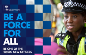National campaign to recruit 20,000 police officers launches today