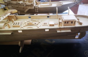 Case study: London model ship builder helps chart the course of Qatar's history