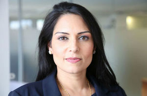 Priti Patel statement on bombardment of Aleppo