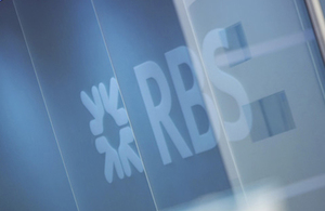 UKGI advises Chancellor to undertake a second sale of government's shareholding in RBS tonight
