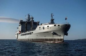 Royal Fleet Auxiliary's new tanker arrives in UK for customisation work sustaining 300 jobs