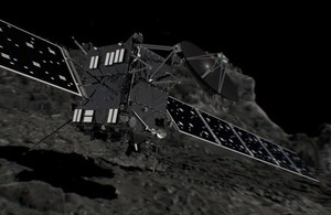 End of an era: UK's role in European Rosetta mission now complete