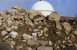 Case study: Concrete example of dealing with decommissioning rubble