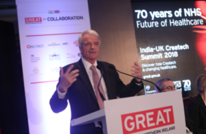 Trade mission to India celebrates 70 years of NHS innovation