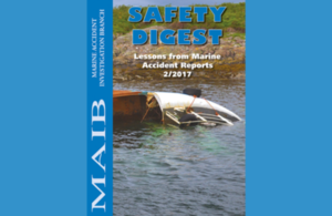 MAIB safety digest 2/2017 published