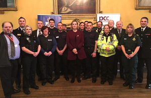 Home Secretary praises first responders and emergency services