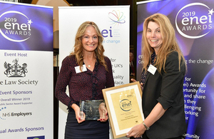 RWM's Dr Samantha King triumphs at the ENEI Awards