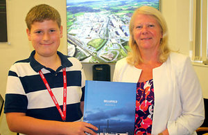 Dream comes true for young 'nuclear expert'