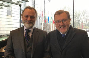 David Mundell in Brussels: Getting the best deal for the whole of the UK