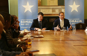 Minister for Africa meets members of the Somali Diaspora