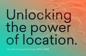 Press release: Geospatial Data Strategy to unlock the power of location data across the UK's Blue Economy