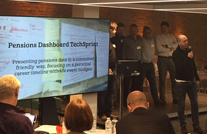 Winners of Pensions Dashboard Techsprint revealed as FinTech Week 2017 draws to a close