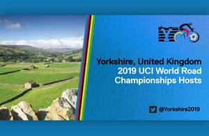 Yorkshire to host 2019 UCI Road World Cycling Championships