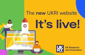 First phase of new UKRI website launches today
