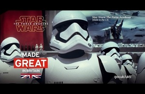 New Star Wars collaboration celebrates British creativity, innovation and respect for copyright