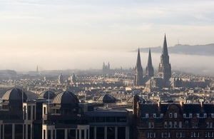 Office of the Secretary of State for Scotland to join UK Government Edinburgh hub