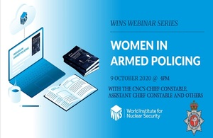 CNC officers proud to take part in webinar on women in armed policing