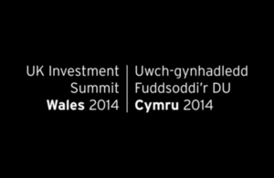 UK Investment Summit Wales 2014