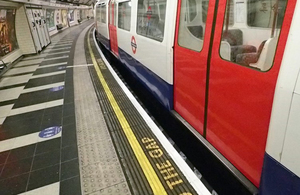 Fatal accident at Waterloo underground station
