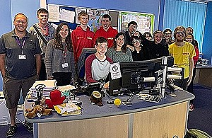 Case study: YMCA Bournemouth's Chatterbox Project visit Bournemouth, Christchurch and Poole Council CCTV control room