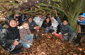 Children's visits to natural environments: new evidence