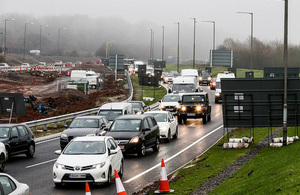 Government invests £350 million improving local roads