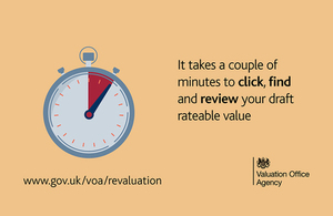 Business ratepayers: Click, find and review your draft rateable value