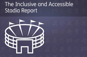 Press release: Ministers highlight 'inexcusable' lack of disabled access at some sports clubs and venues