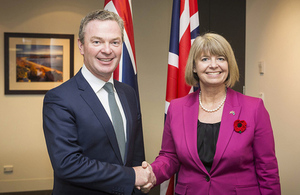 UK and Australia step up defence relationship as ministers meet