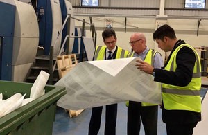 Minister concludes two day tour of Cornwall