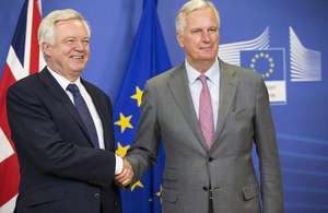 David Davis' opening remarks at the start of the third round of EU exit negotiations
