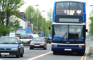 Bus Services Bill to help deliver more regular services for passengers