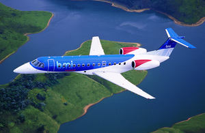 UK government funds City of Derry air link