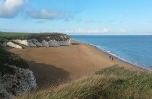 England Coast Path in Kent: two steps forward