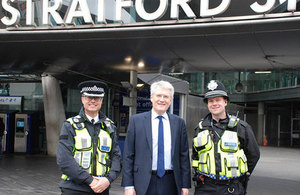 Transport Minister commends invaluable work to tackle knife crime on railways