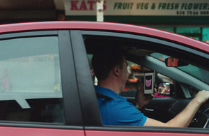 Top LA directors show dangers of using mobiles while driving