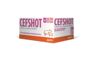 Cefshot DC 250mg Intramammary Suspension for Cattle – Product defect recall alert
