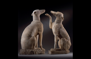 Press release: Outstanding Roman figures of Celtic Hounds at risk of export