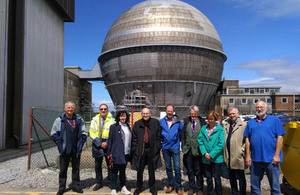 Committee on Radioactive Waste Management visit to Sellafield