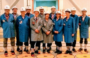 Committee on Radioactive Waste Management visit Sellafield