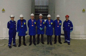 Committee on Radioactive Waste Management visit to Sizewell B