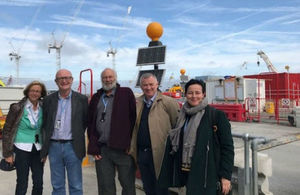 Committee on Radioactive Waste Management visit to Hinkley Point C