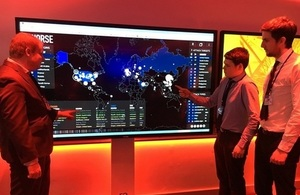 New cyber lab classroom opens in Cumbria