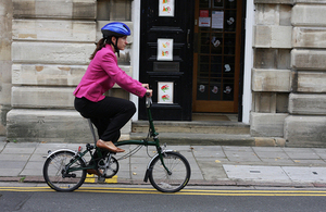 £64 million government funding to encourage more cycling and walking to work