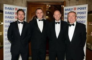 Welsh Secretary Stephen on the Daily Post Business Awards