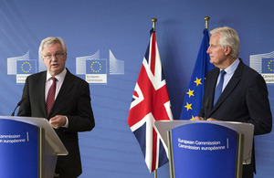 David Davis' opening remarks at the start of the fourth round of EU exit negotiations